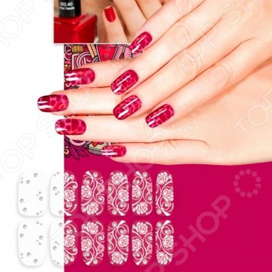 Пленка для дизайна ногтей Bradex «Изморозь»