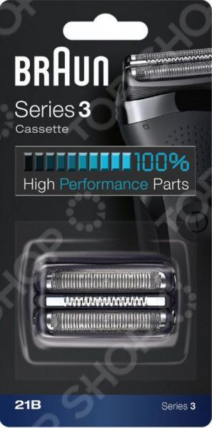 цена Сетка и режущий блок для электробритв Braun Series 3 21B