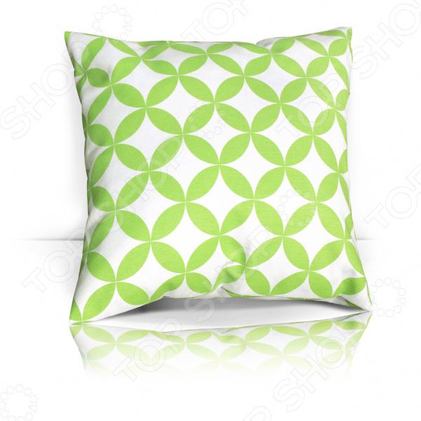 Подушка декоративная Kauffort Green Round декоративная косметика green mama