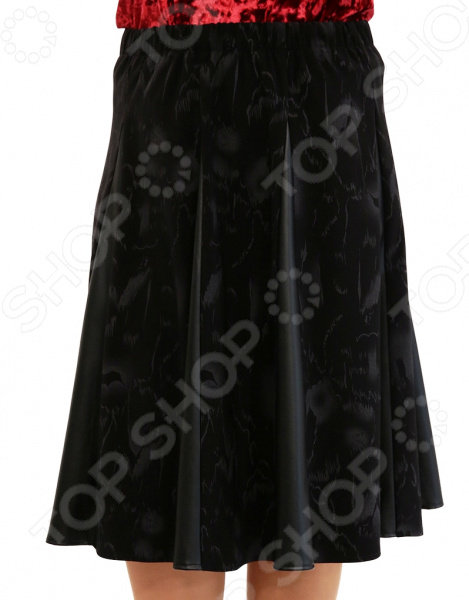 Юбка Лауме-Лайн «Волшебная улыбка». Цвет: черный