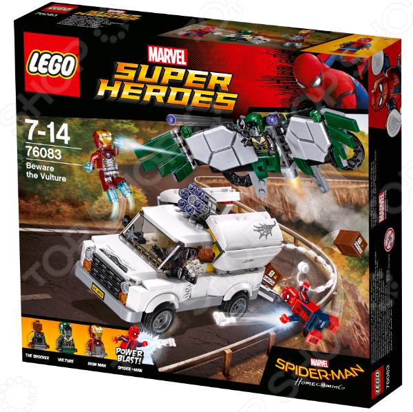 Конструктор игровой LEGO Super Heroes «Берегись Стервятника» lego super heroes конструктор берегись стервятника 76083