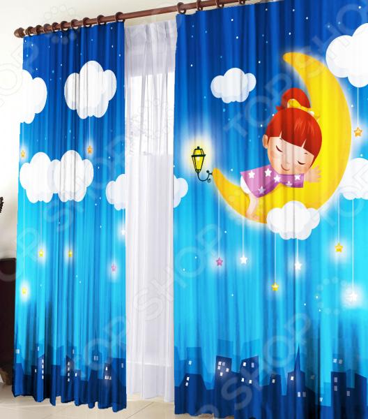 Фотошторы детские ТамиТекс «Сновидение»