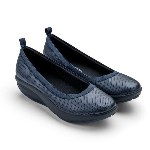 фото Балетки элегантные Walkmaxx Comfort 2.0. Цвет: синий