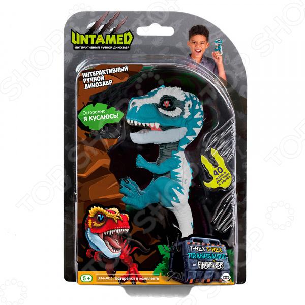 Игрушка интерактивная Fingerlings «Динозавр Айронджо»
