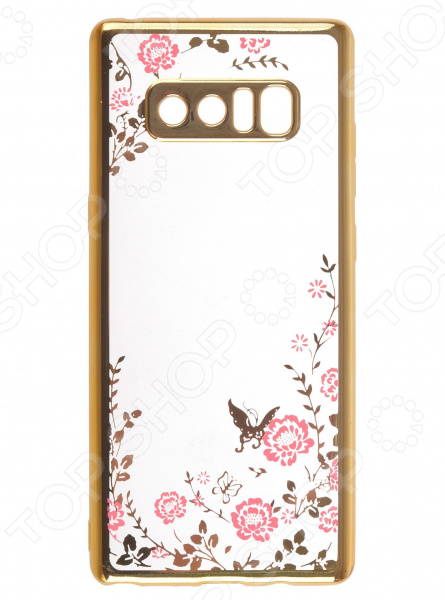 Чехол защитный skinBOX Samsung Galaxy Note 8 skinbox 4people чехол для samsung galaxy note 5