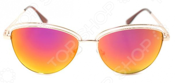 Очки солнцезащитные Mitya Veselkov в форме капли очки солнцезащитные mitya veselkov цвет черный msk 1303