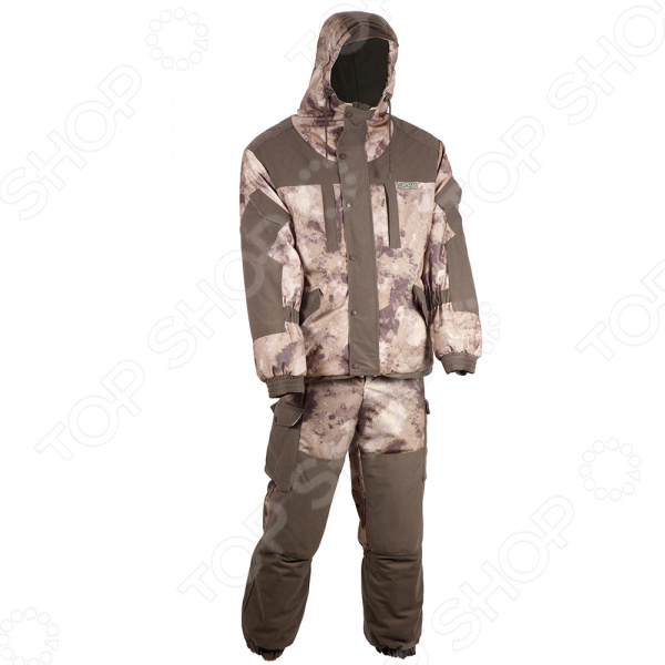 Костюм для охоты и рыбалки зимний Huntsman «Памир». Рисунок: туман