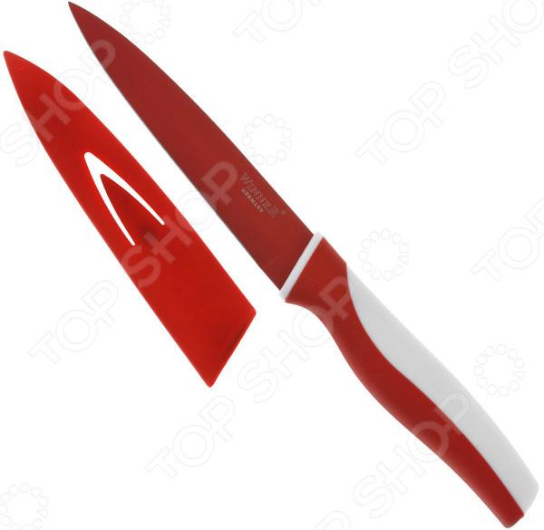 Нож с полимерным покрытием Winner WR-7209. В ассортименте