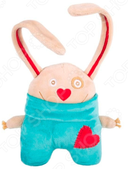 Мягкая игрушка Gulliver «Заяц. Я влюбленный»