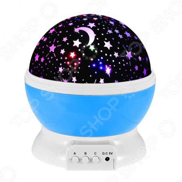Проектор лазерный Star Master Dream Rotating Projection Lamp 1