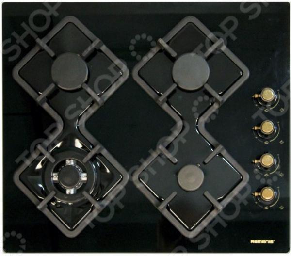 Варочная поверхность Remenis REM-2151 black side rusti