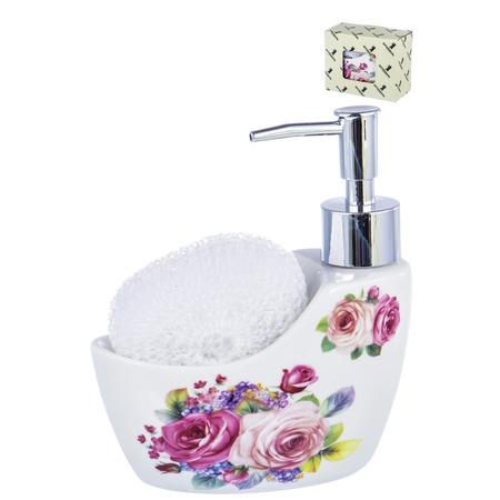 Купить Диспенсер-подставка для жидкого мыла и губки Guterwahl Party Time 05044