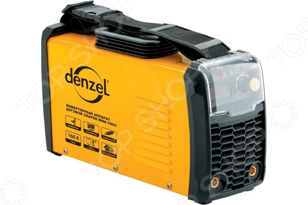 купить Аппарат инверторный дуговой сварки Denzel MMA-160CI дешево
