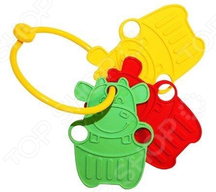 Игрушка-прорезыватель Пластмастер Зверята незаменимая вещь, когда у малыша начинают резаться зубки. Изделие также можно использовать в качестве погремушки или подвесить над кроваткой. Изготовлено из мягкого пластика с учетом возрастных особенностей, поэтому безопасно для ребенка. Яркое оформление порадует и привлечет внимание малыша.