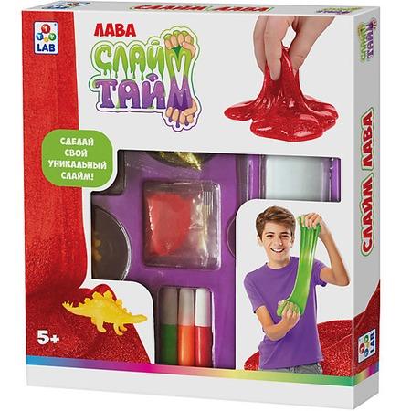 Купить Набор для изготовления слайма 1 Toy LAB «Лава»