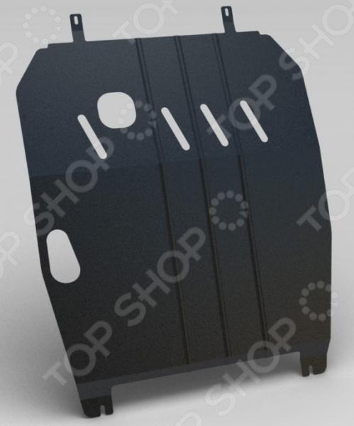 Комплект: защита картера и крепеж EKO для Mitsubishi Outlander, 2012 комплект зк и крепеж eco mitsubishi outlander 2012 2 0 бензин акпп fwd 4wd сталь 2 мм eco 35 30 020