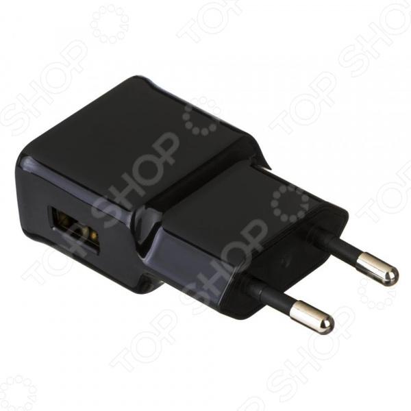 Сетевое зарядное устройство 1A, 1xUSB. Уцененный товар