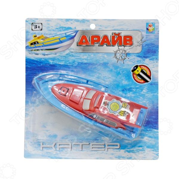 Игрушка для ванны детская 1 Toy «Катер» Т58766