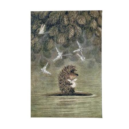Купить Обложка для паспорта Mitya Veselkov «Ежик плывет»