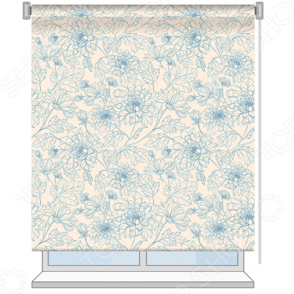 Рулонная штора Волшебная ночь Emma рулонная штора волшебная ночь 120x175 стиль прованс рисунок emma