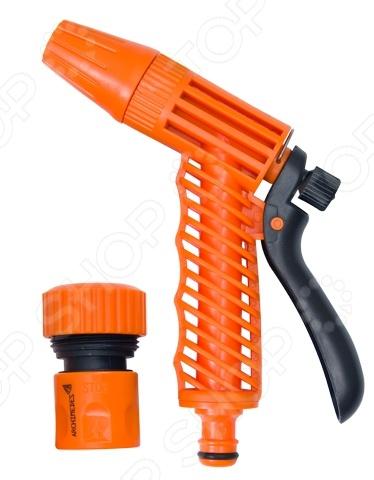 Набор: пистолет-наконечник и коннектор Archimedes 90939 набор шпателей для выравнивания archimedes stabi 4 шт