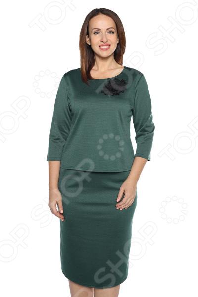 Блуза Pretty Woman Украшение вечера». Цвет: зеленый блуза pretty woman волшебный взгляд цвет зеленый
