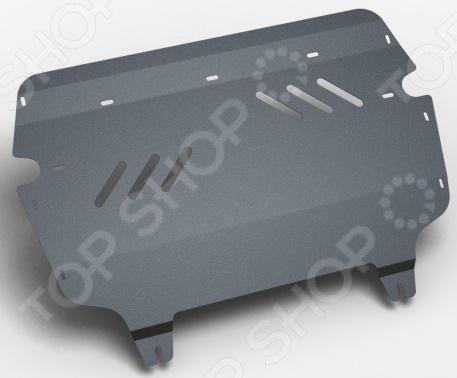 Комплект: защита картера и крепеж NLZ Volkswagen Passat B7 2011, Passat CC 2009: 1,4/1,8/2,0 бензин МКПП/АКПП