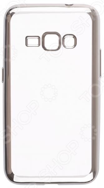 Чехол защитный skinBOX 4People для Samsung Galaxy J1 mini (2016)