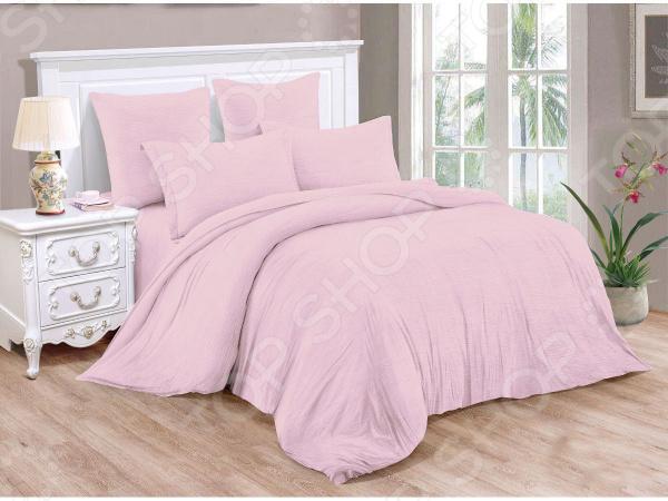 Комплект постельного белья Cleo Pastel Symphony 038-PT комплект постельного белья 1 5 спальный la pastel цвет мультиколор
