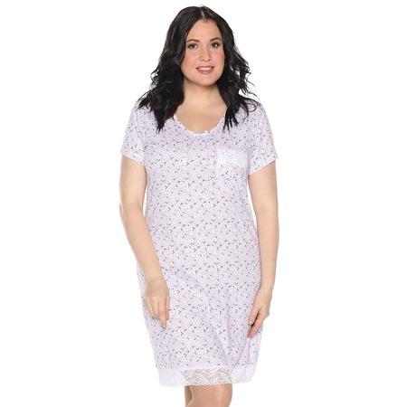 Купить Ночная сорочка El Fa Mei «Сказочный сон». Цвет: розовый