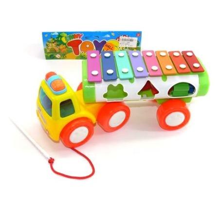 Купить Машина-каталка развивающая Shantou Gepai «Ксилофон»