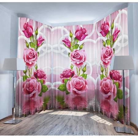 Купить Фототюль ТамиТекс «Душистые розы»