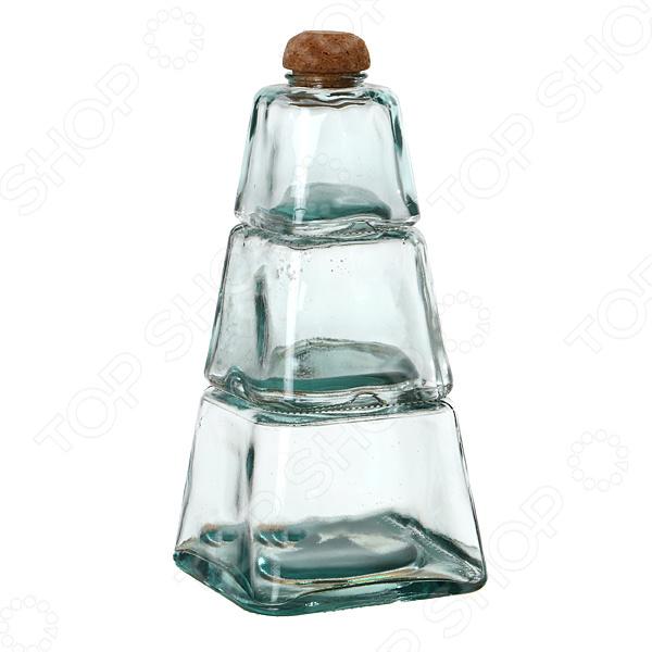 Набор банок для сыпучих продуктов SAN MIGUEL 600-476 gift planet набор банок для сыпучих продуктов прованс из 4 х шт 13231