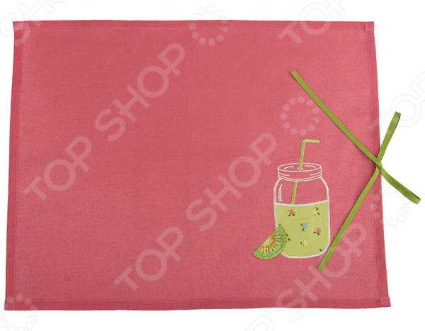 Салфетка для сервировки «Смузи. Киви» 850-453-22 салфетка сервировочная vesta dosh i home салфетка сервировочная vesta