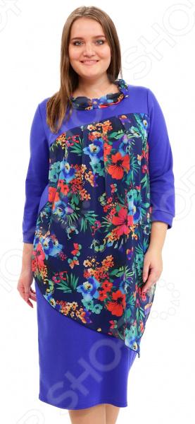 Платье Матекс «Игривое настроение». Цвет: васильковый туника матекс донна цвет васильковый