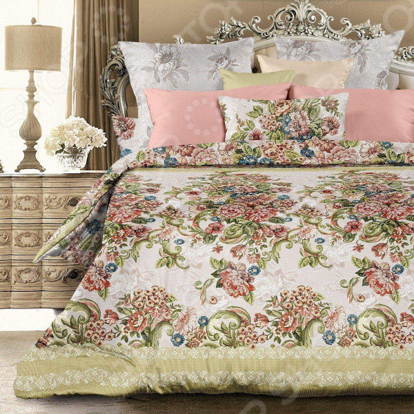 Комплект постельного белья Унисон «Императрица» унисон постельное белье евро императрица унисон биоматин