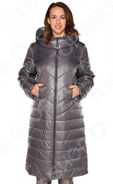Куртка Pit.Gakoff «Морозное утро». Цвет: темно-серый