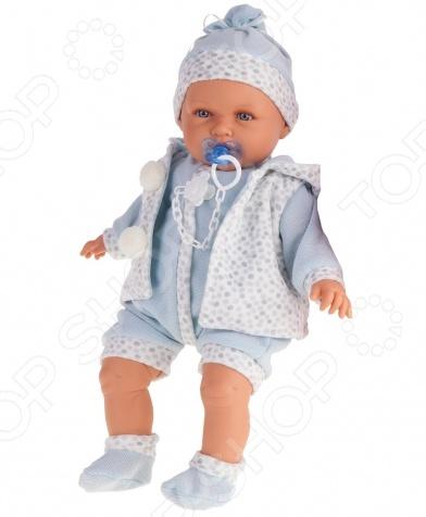 Пупс интерактивный Munecas Antonio Juan «Бенита» куклы antonio juan кукла бенита в голубом озвученная 55см