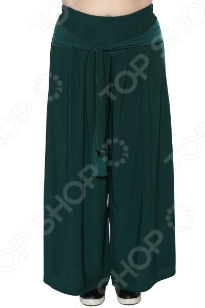 Юбка-брюки Лауме-Лайн «Высокая мода». Цвет: изумрудный брюки лауме лайн обворожительность цвет васильковый