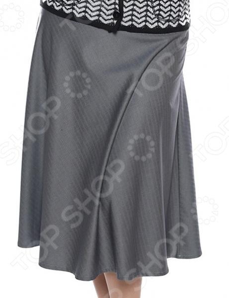 Юбка Лауме-Лайн «Дуэт». Цвет: серый