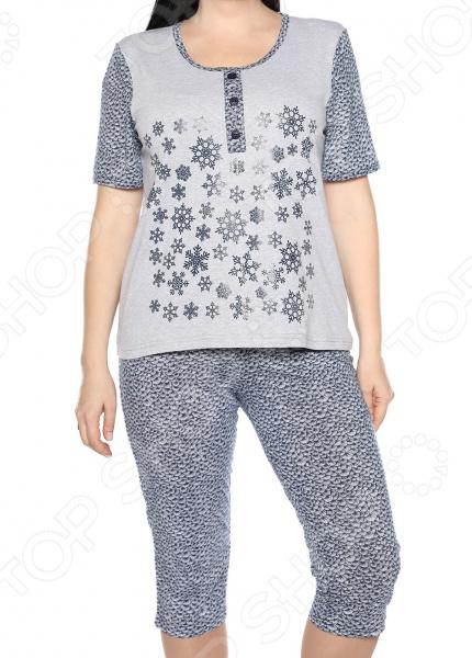 Пижама Алтекс «Счастливые дни». Цвет: красный, синий цены