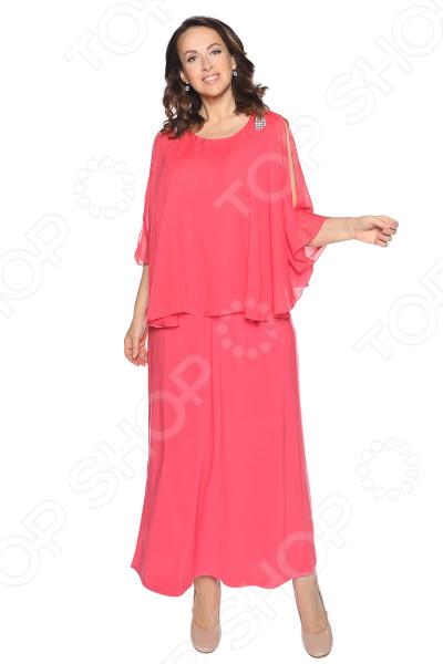 Платье Pretty Woman «Блестящий выход». Цвет: коралловый платье pretty woman лесная нимфа цвет коралловый