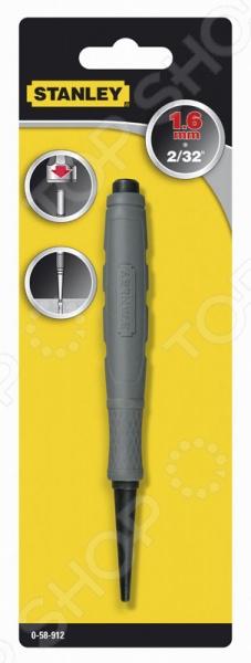 Добойник DynaGrip Nail Set предназначен для утапливания шляпок гвоздей или их выбивания из пазов. Выполнен из закаленной стали. Литое покрытие, выполненное из эластомера, для надежного захвата. Носовая часть с фаской удлиненной формы.