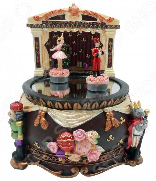 Музыкальная композиция Crystal Deco «Щелкунчик. Танец на пруду» скульптура щелкунчик музыкальный