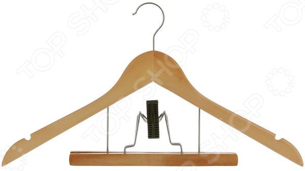 Вешалка-плечики Miolla с зажимом для брюк