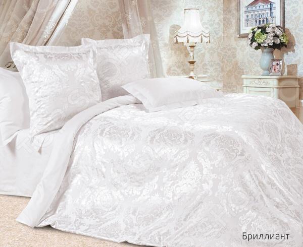 Комплект постельного белья Ecotex «Бриллиант». Семейный постельное белье ecotex комплект постельного белья герцогиня