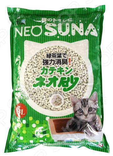 Наполнитель для кошачьего туалета Neo Loo Life с экстрактом зеленого чая