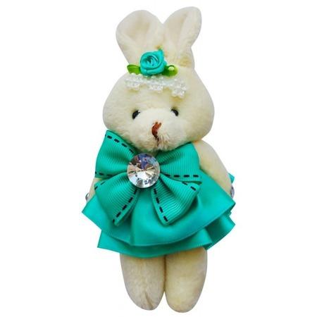 Купить Набор мягких игрушек Color Kit «Заяц». Цвет: бирюзовый
