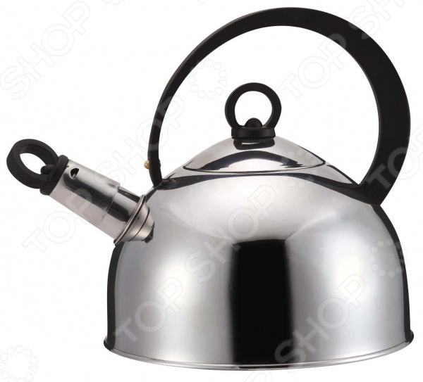 Чайник со свистком Bekker BK-S315 чайник bekker bk s315 2 5 л нержавеющая сталь серебристый