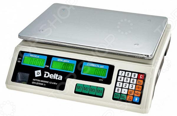 Весы торговые Delta ТВН-40